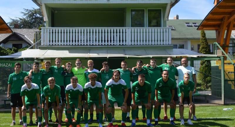 Hévíz SK - MITE U19 bajnoki mérkőzés