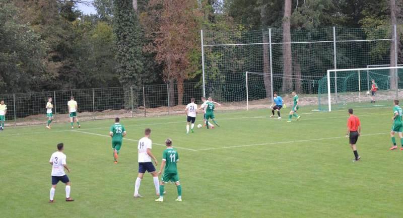 Hévíz SK - Tarr Andráshida SC 0:12 (0:5)
