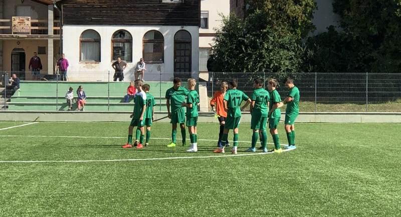 Hévíz SK - Sopron SC serdülő mérkőzések
