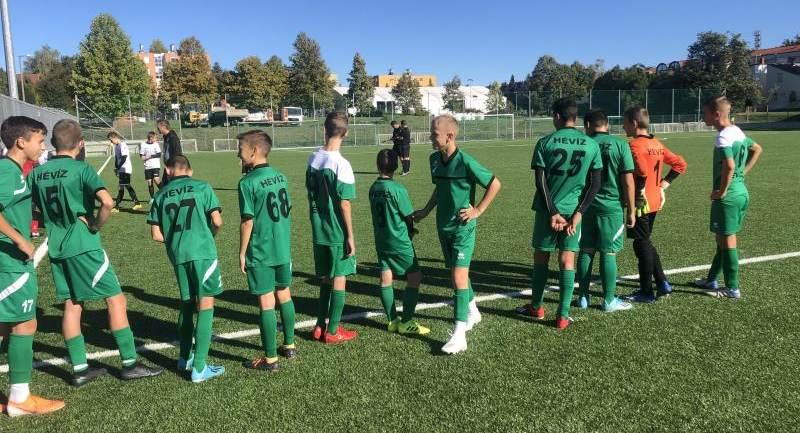 Hévíz SK – Haladás VSE U14 bajnoki mérkőzés