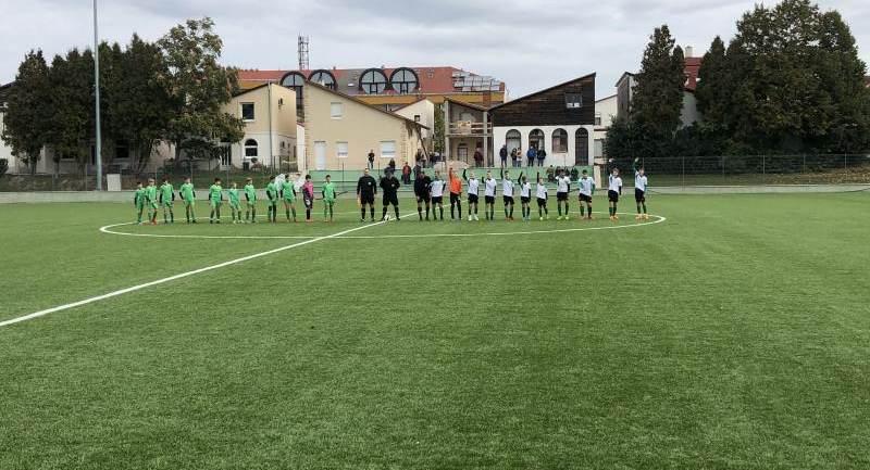 Hévíz SK - FC Ajka serdülő bajnoki mérkőzések
