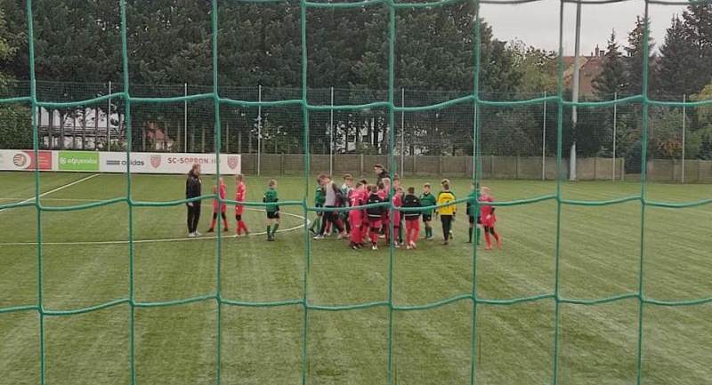 SC Sopron - Hévíz SK U12-U13 bajnoki mérkőzések