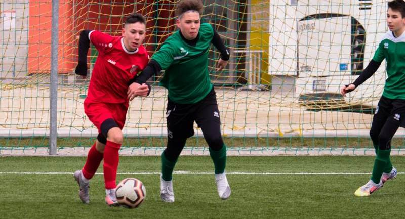 SC Sopron – Hévíz SK serdülő mérkőzések