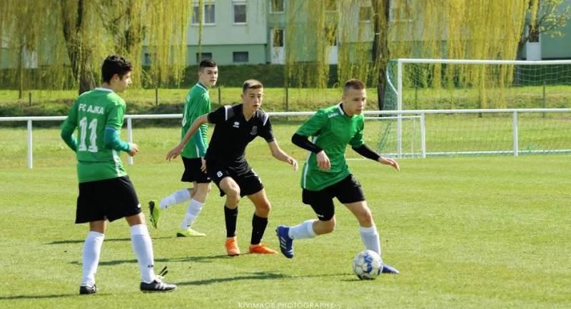 FC Ajka - Hévíz SK ifjúsági mérkőzések