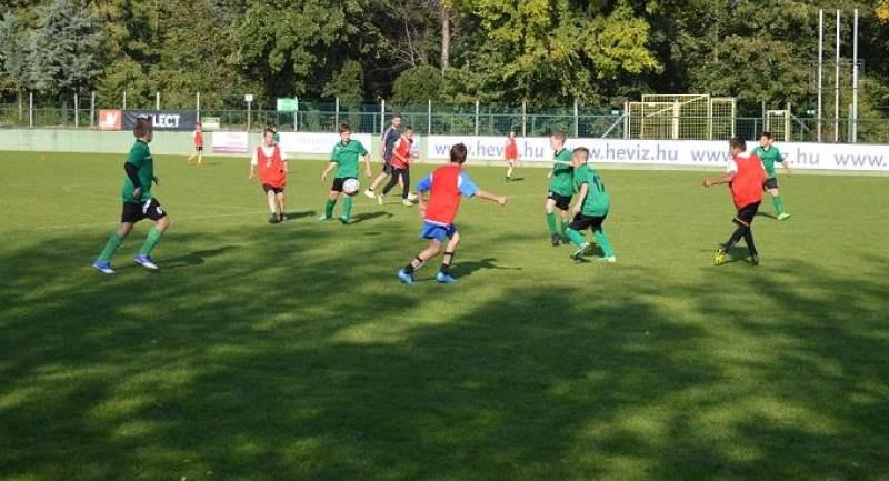 Hévíz - Csorna U12/U13 bajnoki mérkőzések
